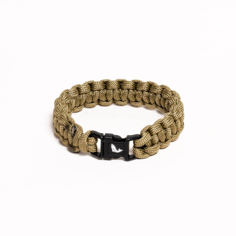 Paracord Bracelet – Coyote Brown