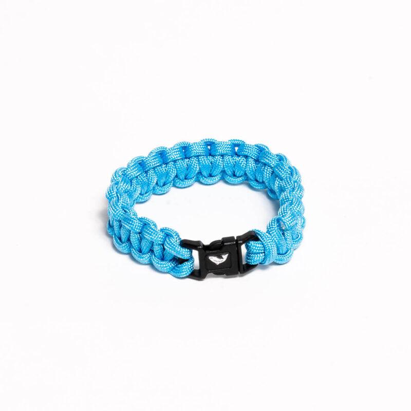 Paracord Bracelet – Lake Blue