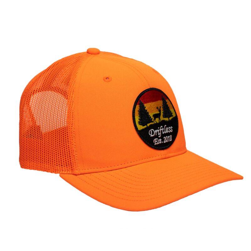 Stag Snapback – Blaze Orange