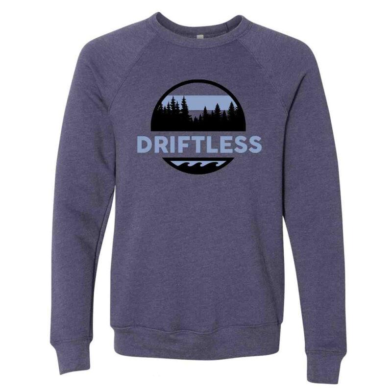 Driftless Crewneck – Heather Navy