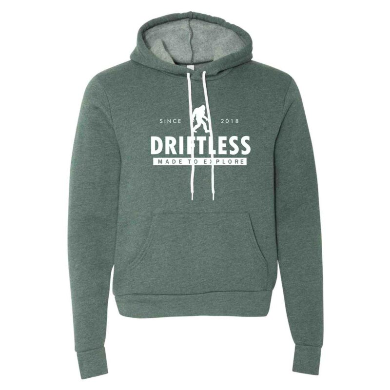 Driftless Hoodie – Heather Forest