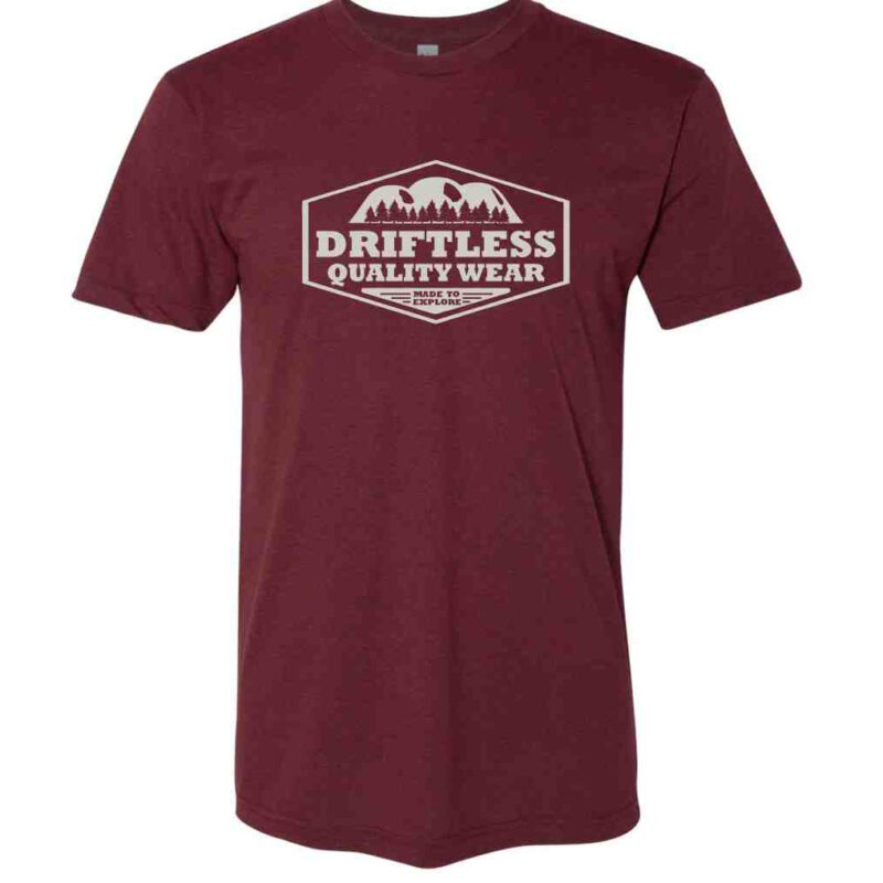 Coulee Tee – Heather Cranberry